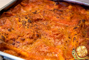 Lasagna al Forno pasta and food products for your own restaurant business, Stuzzicando offers machinery, technical support, original italian food recipes plus international logistic and customer services Made in Italy