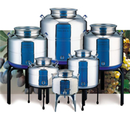 WINE AND FOOD Storage containers manufacturing co. in STAINLESS STEEL offers the best and safety CONTAINERS at MANUFACTURING PRICING... BECOME OUR DISTRIBUTOR...