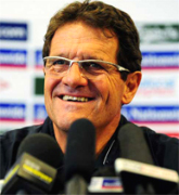 Fabio Capello an AIAC coach member, Italian soccer school become a Champion with our Coaches, let us manage your soccer team form beginners, young, girs and professional players, the Italian football soccer school to the world thanks to WBN and AIAC - the Italian football soccer association of coaches - the Italian football soccer school offers to the international players and teams the World Champions technical and tactical training to the USA soccer teams, Canada soccer players, UAE soccer league, Saudi Arabia teams, Australia teams and soccer players. We offer also customized training for soccer lovers as begineers camps, young soccer camps, girls football soccer training and professional Italian soccer Coaches for your team, our Italian soccer school offers the most prestige and winner Football Soccer coach camps and training in the world ready to coach in your country and become a Champion in your league