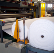 Customized foam padding process for your industrial applications with polyester fiber foam products made in Italy, Italian polyester products manufacturing for acoustic padding, furniture sofa pads, polyester fibers mattress pad, clothing foam padding manufacturer, polyester fibe foam, thermal and acoustic insulation for civil building applications for the industry, we offer our Engineering research department to meet your industrial requirements, looking for distributors in Asia, Africa, Europe, Middle East and Latin America...