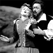 Pavarotti became a student of Ettore Campogalliani, who was also teaching the now well-known soprano, Pavarotti's childhood friend Mirella Freni. During his years of study Pavarotti held part-time jobs in order to help sustain himself--first as an elementary school teacher and then, when he failed at that, as an insurance salesman....