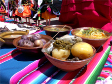 Andes food original incas Vacations in Titicaca lake in our Chucuito village, located at 15 km of Puno, is the old capital of the LUPACA TAMBU an Aymara state... Live with us Be our guest in our village, in our houses, in our lake hotel, We will share you, our Aymara culture, incas food, textile knowledgement, music, artcrafts, Titicaca Lake sports, Uros tours, folklore party, Andes music... all included maintaining our passion for the Mamapacha and our environment, support our village enjoing your Peruvian vacations
